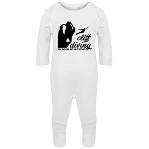 Cliff Diving Baby Romper