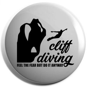 Cliff Diving Badge