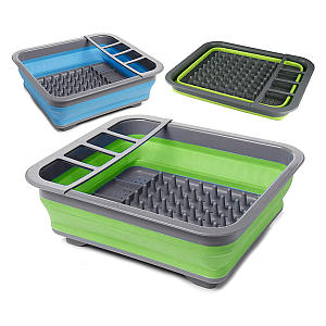 Collapsible Silicone Dish Drainer