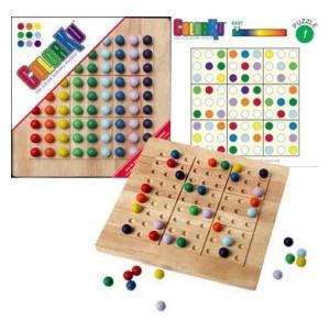 Colour Sudoku Board Game