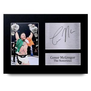 Conor McGregor Signed Autograph UFC Print