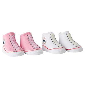 Converse Baby-Girls 2 Pack Booties Socks