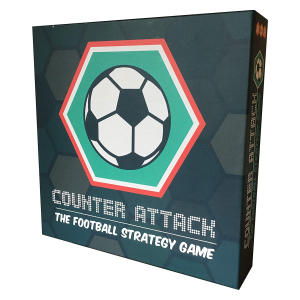 Counter Attack: Football Strategy Board Game