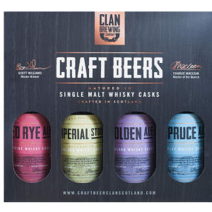Clan Brewing Company Craft Beer X 4
