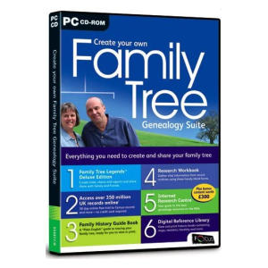 Create Your Own Family Tree Genealogy Suite