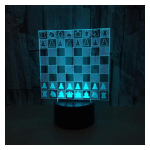Creative Chess 3D Visual Light