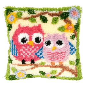 Crocheting Cushion Embroidery