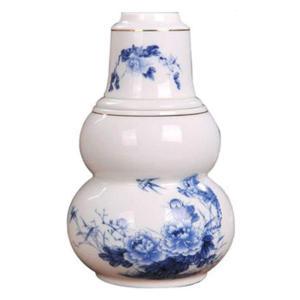 Cyan Ceramic Warm Wine Set