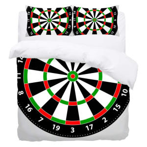 Dart Board Single Duvet Cover