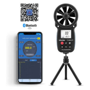 Digital Wireless Anemometer with APP