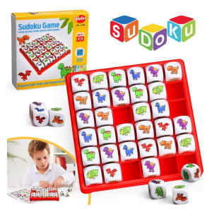 Dinosaur Sudoku Puzzle Board Game