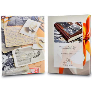 Discover Your Family History Gift Experience Voucher