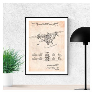 Drone Helicopter Quadcopter Poster