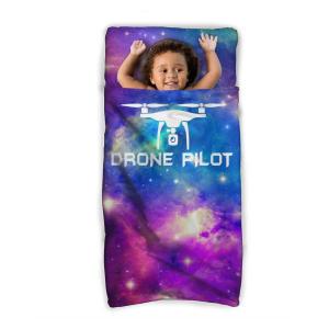 Drone Pilot Kids Sleeping Bag