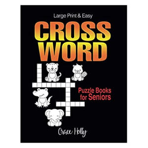 Easy Large Print Crossword Puzzle Book