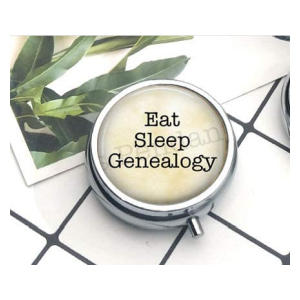 Eat Sleep Genealogy Medecine Case