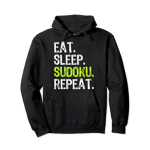 Eat Sleep Sudoku Repeat Hoodie