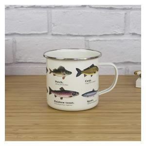Ecologie Fish Enamel Mug
