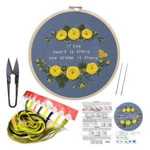 Embroidery Starter Kit Set