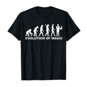 Evolution Of Magic T Shirt