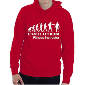 Evolution of Fitness Instructor Hoodie