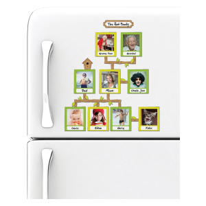 Family Tree Magnetic Frames