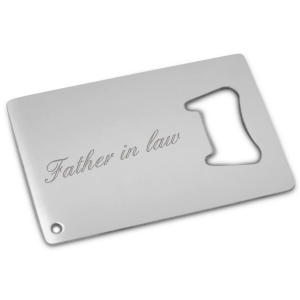 Father in Law Bottle Opener Card