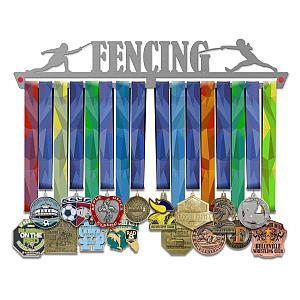 Fencing Medal Hanger Display