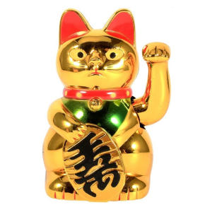 Feng Shui Cat Decoration