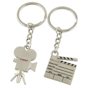 Film Clapper and Camera Keyring
