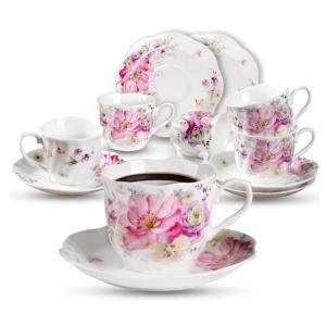 Vintage Floral Tea Cups