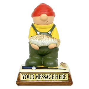 Fisherman Hand Painted Miniature Figure