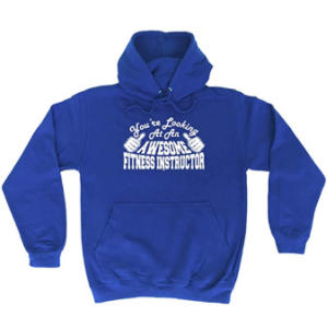 Novelty Fitness Instructor Hoodie