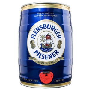 Flensburger Pilsener Beer Party Keg