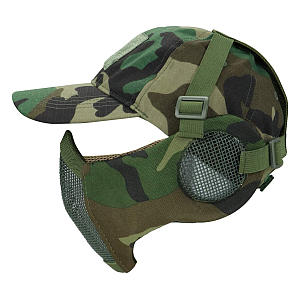 Foldable Airsoft Mesh Mask