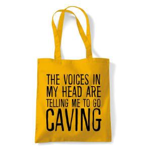 Funny Caving Canvas Bag