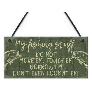 Funny Fisherman Stuff Plaque