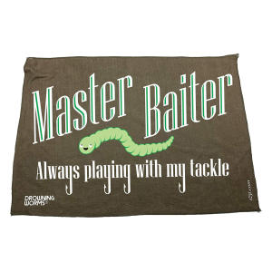 Funny Fishing Microfiber Towel