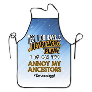 Funny Genealogy Apron