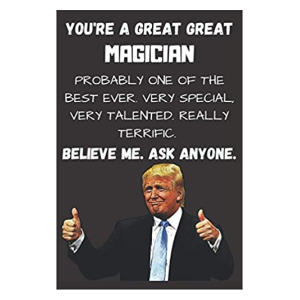 Funny Great Magician Notebook