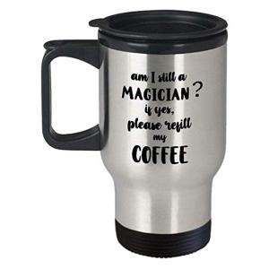 Funny Magician Travel Mug