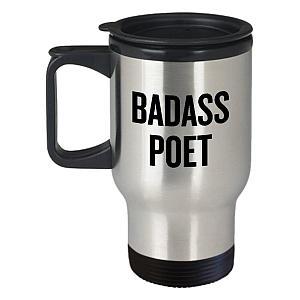 Funny Poet Travel Mug
