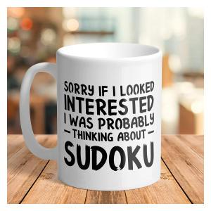 Funny Sudoku Mug