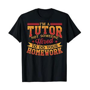 Funny Tutor T Shirts