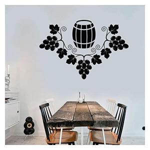 Grapes Barrel Winemaker Vinyl Wall Stickers