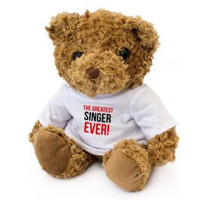Greatest Singer Ever Teddy Bear
