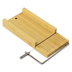 Handmade Bamboo Soap Cutter