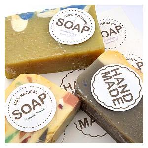 Handmade Soap Sticker Labels