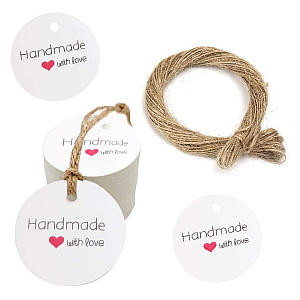 Handmade With Love Tags