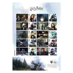 Harry Potter Collector Stamp Sheet